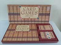 CARD GAMES - learn new games book and cards FREE POST