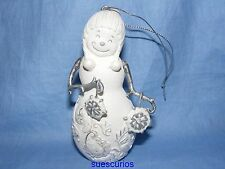 Perfectly Presented Christmas Snowman Snowflakes Decoration Figurine 77016