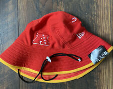NFL AFC Pro Bowl New Era Training Bucket Hat Cap One Size Fits Most OSFM Red '18