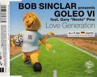 "Bob Sinclar presents Goleo VI Feat. Gary ""Nesta"" Pine Maxi CD Love Generation"