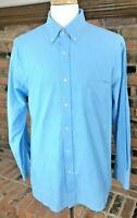 J. McLaughlin TRIM-FIT Long Sleeve Contrast Cuff Button-Down Shirt ~ Men's XL