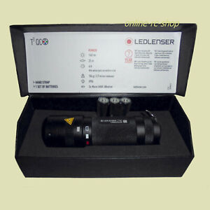 Ledlenser® T2QC LED LENSER Taschenlampe schwarz Schutzklasse IPX6 farbig color