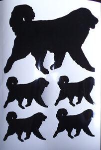 Pyrenean Mountain dog vinyl stickers/ car decals/ window decals