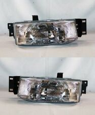 Right and Left Side Replacement Headlight PAIR For 1991-1996 Ford Escort
