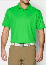 Under Armour Men's Heat Gear Golf Loose Fit Polo Shirt size L  1000490