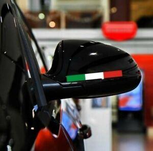 Aufkleber Italien Flagge 9 x 1cm 2er Set