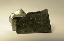 Very nice meteorite slice of the very rare ck6 (s1, w1) NWA 10116 1.4g low tkw