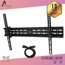 Tilting LCD LED ultra HD TV Wall Mount Bracket 32 37 42 46 50 52 55 57 60 65 70