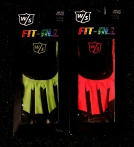 Wilson Staff Fit-All Golf Glove-Men's LH (for RH Golfer) - Pick Color