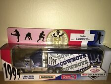 1995 DALLAS COWBOYS PETERBILT TRAILER/MATCHBOX/WHITE ROSE COLLECTIBLES