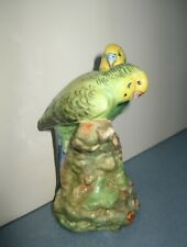 New Listing1940's Royal Doulton Hn 2547 Budgerigar Bird Figurine, Pair of Budgies/Parakeets