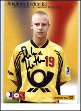 Stephan KREBIETKE Signatur Orig. Tusem ESSEN Handball Autogramm Autogrammkarte