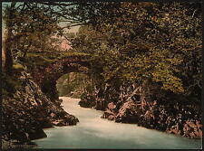 Roman Bridge Ii Bettws Y Coed A4 Photo Print