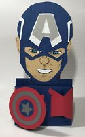 Christmas Handmade Gift Card Holders - Captain America