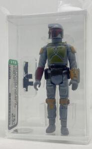 Kenner Star Wars Boba Fett TW AFA 75+ loose vintage NEW CASE STYLE