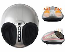 Shiatsu + Air Pressure Kneading and Rolling Foot Massager Machine Airbag Timer