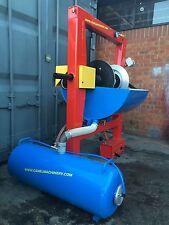 Máquina para ensayos de la presión del neumático con sistema de Aqua