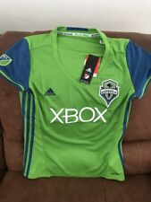 Adidas Seattle Sounders MLS Soccer Jersey NWT Size L Womens
