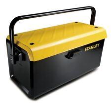"""STANLEY 19"""" Metall Werkzeugkoffer leer mit 1 Schublade"""