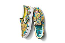 Vans Slip On x The Simpsons Collage Size 5-13