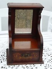 Vintage Antique Mahogany Dressing Table Mirror with Drawer
