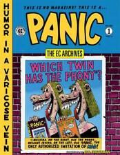 EC ARCHIVES - PANIC VOLUME ONE HARDCOVER - $AVE 25%!! JACK DAVIS WALLY WOOD