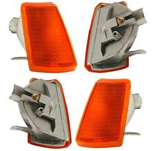 2 CLIGNOTANTS AVANT ORANGE PEUGEOT 205 PH 2 II JUNIOR 02/1983-09/1998 NEUF