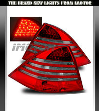 00-06 Mercedes-benz W220 S-Class S430 S500 S600 S550 Red Smoke Tail Lights