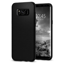 Spigen®Samsung Galaxy S8 Plus [Liquid Air Armor] Shockproof Black TPU