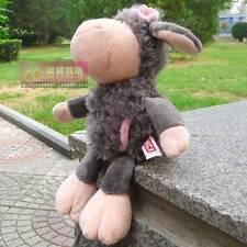 new flower gray sheep Stuffed Animals soft toys plush doll 25cm plush doll