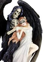 Anne Stokes DANCE With Death Gothic Skeleton Grim Reaper Statue Sculpture