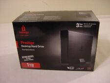 1TB IOMEGA PRESTIGE HARD DRIVE USB 3.0 EXTERNAL HD