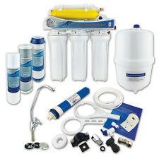6 Stage Reverse Osmosis System Domestic Undersink Fluoride Removal Finerfilters
