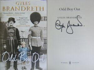 Signed Book Odd Boy Out by Gyles Brandreth Hardback 2021 1st Edition