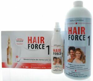 Hair Force One - Ampullen + Shampoo + Lotion Professional gegen Haarausfall