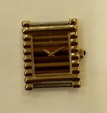 LADIES NEW OLD STOC SWISS MANUAL WIND BENYTONE PLAQUE GOLD CASE 23 x 29 MM