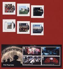 Großbritannien 2016 - Pink Floyd Cover + Konzertfotos - Nr. 3903-08 + Block 103