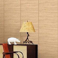 Nature Wood Optic Panelling Timber Plank Wood Textured Wallpaper Cream KZ0904