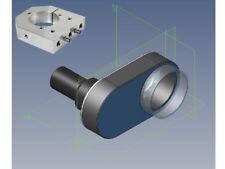 Set Eurohalsaufnahme + Absaugung für Kress CNC Fräse Fräsmaschine Portalfräse