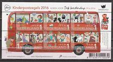 Nederland Blok 3473 Kinderzegels 2016 Fiep Westendorp