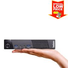 Lenovo ThinkCentre Tiny PC (Intel Core i5 4570T, 8GB RAM, 256GB SSD, WiFi, Win10
