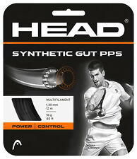 Head Synthetic Gut 16 Pps Black Stringing for racquet purchase with installation