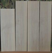 "4 Thin Black Ash Boards-1/8"" thick-lumber/wood/crafts/ inlay/veneer/scrollsaw"