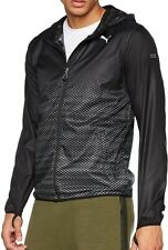 Puma Last Lap Graphic Mens Running Jacket - Black
