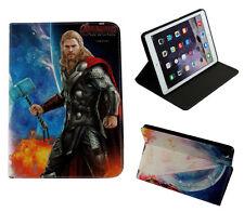 Para Apple iPad 2 3 4 Vengadores Thor Marvel DC Inteligente De pie Estuche Cubierta Sleep-Wake