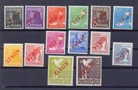 Berlin 21-34 Rotaufdruck postfrisch komplett und geprüft (ks82)