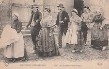 Carte Postale ancienne L'Aveyron Pittoresque Un Baptème Aveyronnais