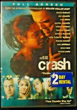 Dvd Crash Full Screen Sandra Bullock Matt Dillon Brendan Fraser Don Cheadle