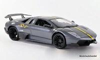 Lamborghini Murcielago LP670-4 SV metallic-grau/matt-black - 1:24 MotorMax