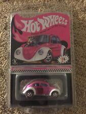 Hot Wheels RLC Pink Custom VW Volkswagen bug beetle convention party RL